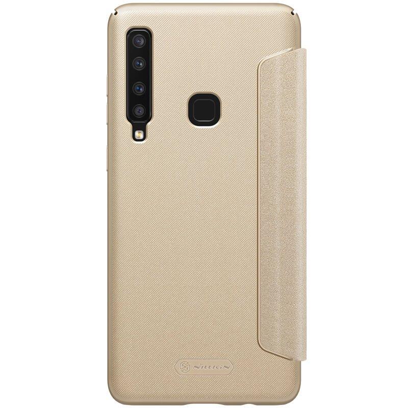 Nillkin Sparkle flipové pouzdro pro Samsung Galaxy A9 2018, gold