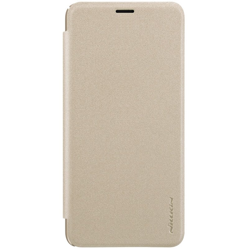 Nillkin Sparkle flipové pouzdro pro Samsung Galaxy J4+, gold