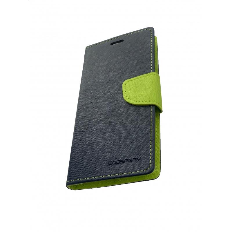 Fancy Diary flipové pouzdro pro Xiaomi Mi 8, navy/lime