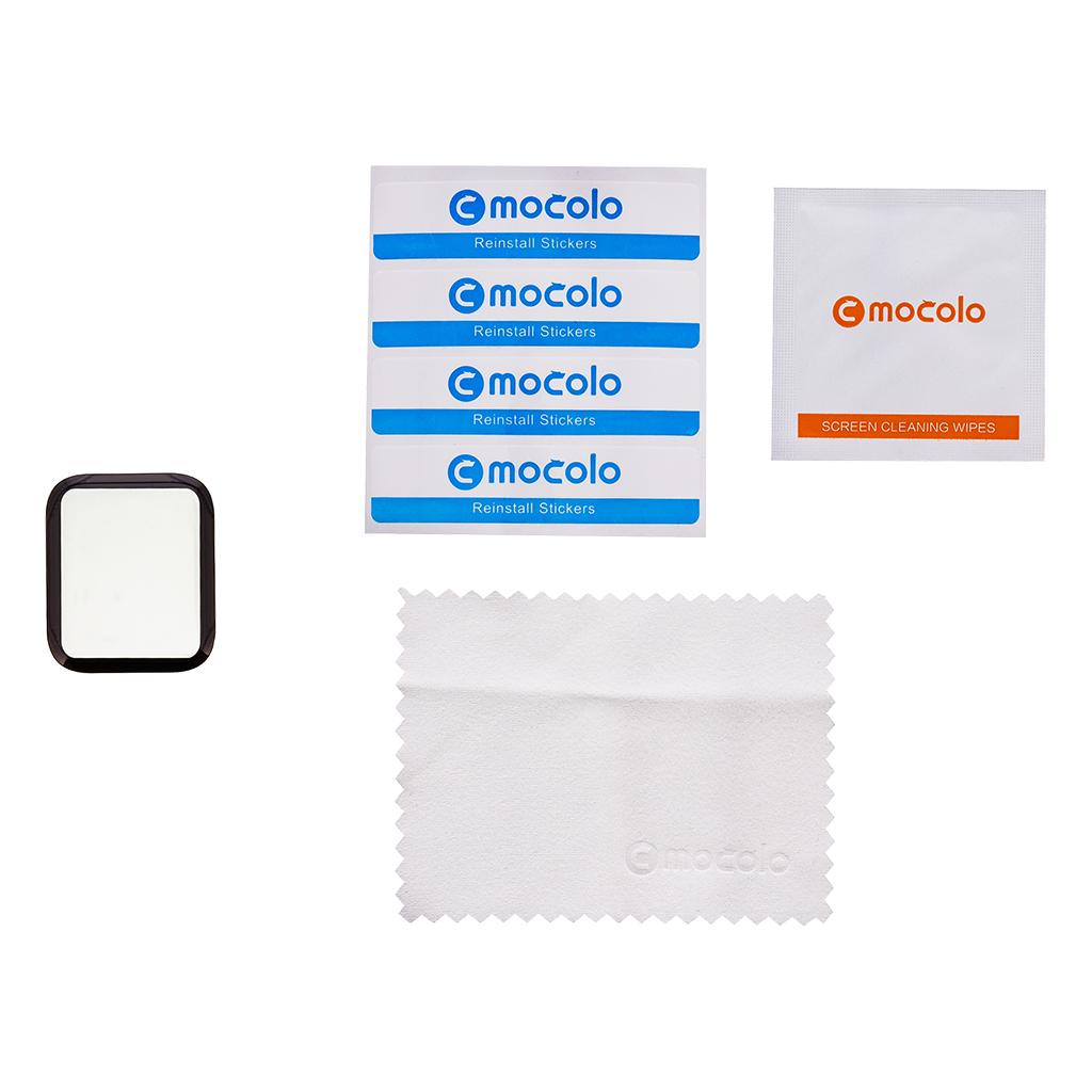 Mocolo 5D Tvrzené Sklo Black pro iWatch 40mm