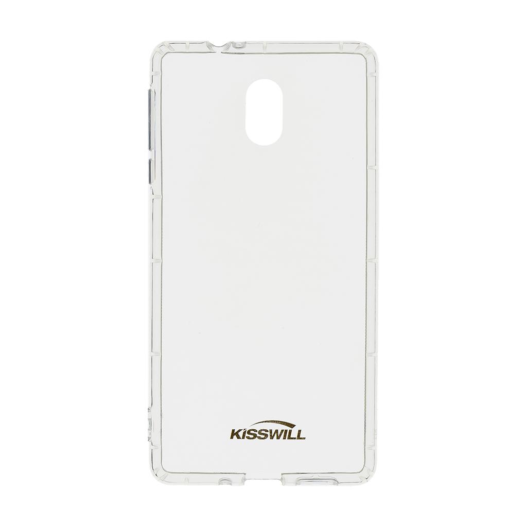 Kisswill TPU Pouzdro Transparent pro Motorola One Vision