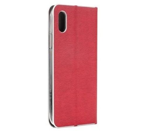 Pouzdro Forcell Luna Book Silver pro Huawei Y6 2019, červená