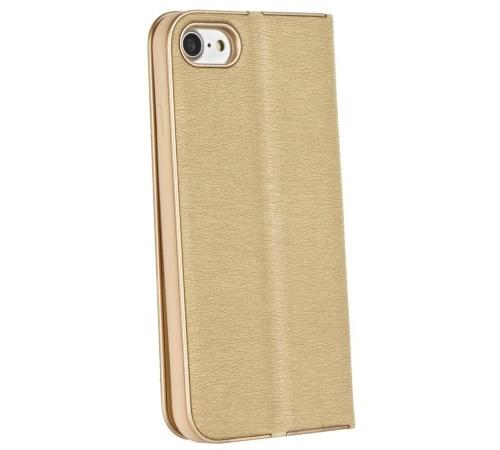 Pouzdro Forcell Luna Book pro Samsung Galaxy A50 (SM-A505), zlatá