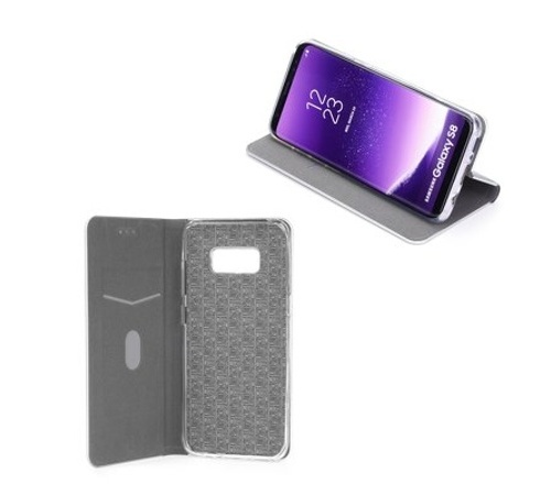 Pouzdro Forcell Luna Book Silver pro Samsung Galaxy A40 (SM-A405), černá