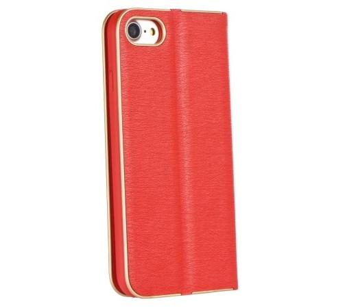 Pouzdro Forcell Luna Book pro Huawei P smart 2019, červená