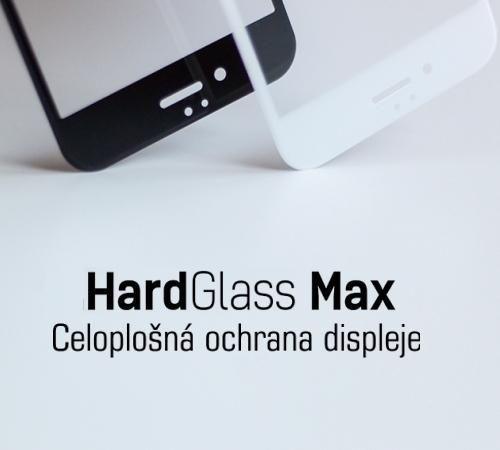 Tvrzené sklo 3mk HardGlass MAX pro Apple iPhone XR/iPhone 11, černá