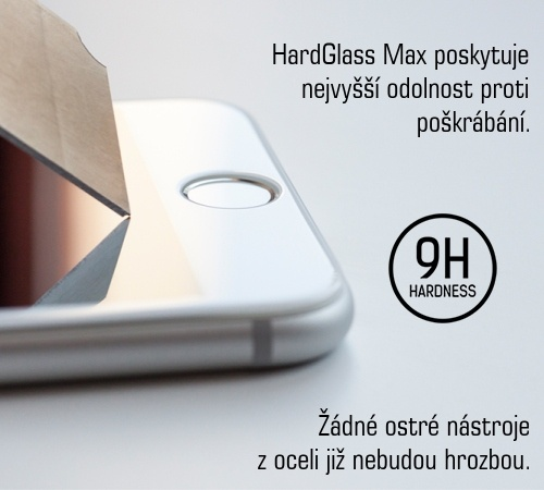 Tvrzené sklo 3mk HardGlass MAX pro Apple iPhone XR, černá