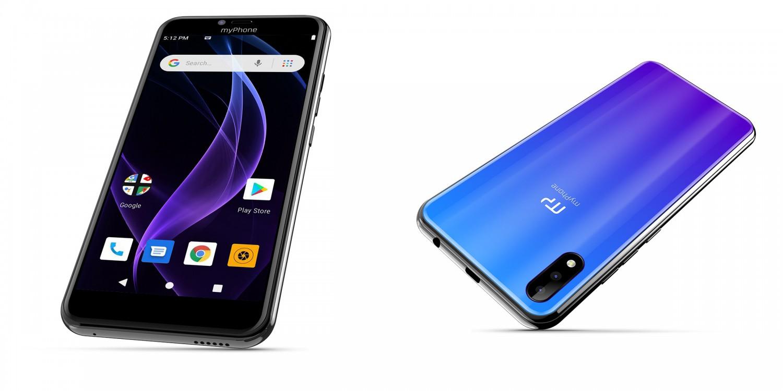 myPhone Prime 4 Lite 2GB/16GB modrá