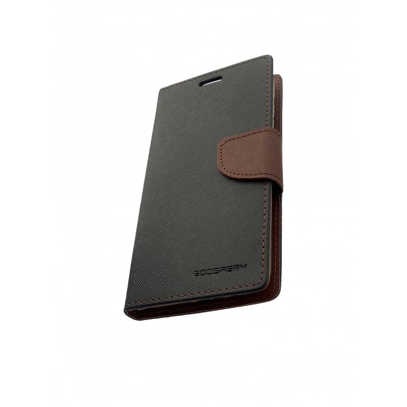 Fancy Diary flipové pouzdro pro Xiaomi Redmi Note 4X, black/brown