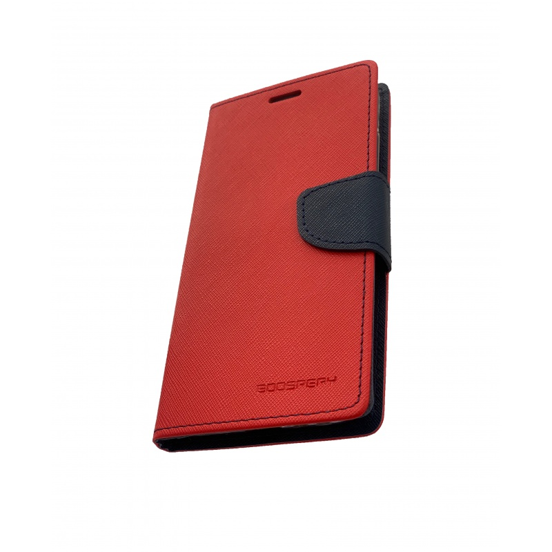 Fancy Diary flipové pouzdro pro Xiaomi Redmi 5 PLUS, red/navy