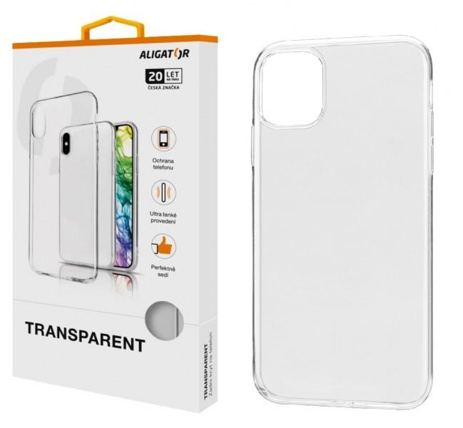 Pouzdro TRANSPARENT ALIGATOR Apple iPhone 11