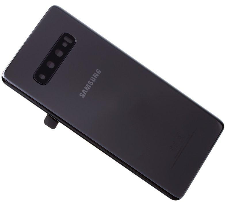 Kryt baterie pro Samsung Galaxy S10+, ceramic black (Service Pack)