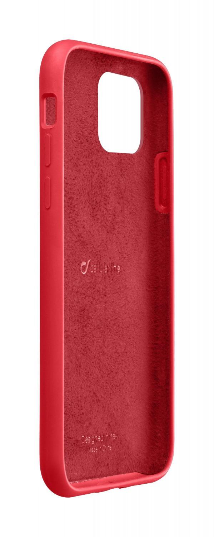 Silikonové pouzdro CellularLine SENSATION pro Apple iPhone 11 Pro, červená