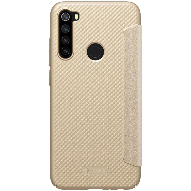 Nillkin Sparkle flipové pouzdro pro Xiaomi Redmi Note 8, gold