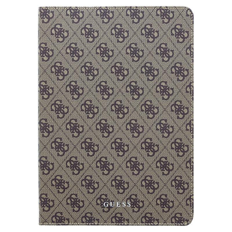 Guess 4G Pouzdro GUFCPP10QGB pro iPad Air 2 9.7 2019 black/brown