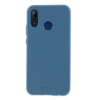Silikonové pouzdro Mercury Style Lux pro Apple iPhone XR, modrá