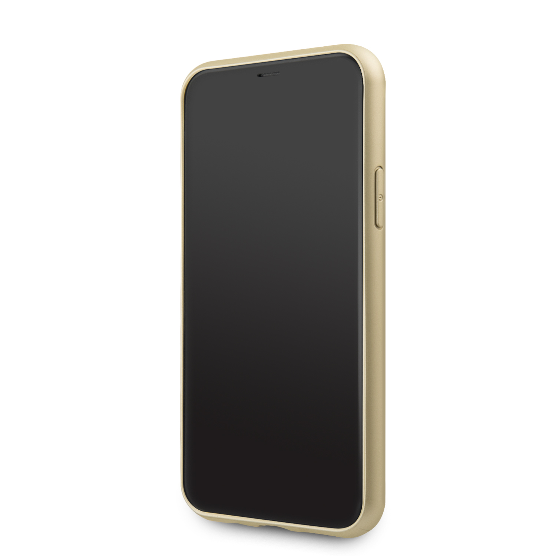 Guess 4G Zadní kryt GUHCN58G4GG pro Apple iPhone 11 Pro grey