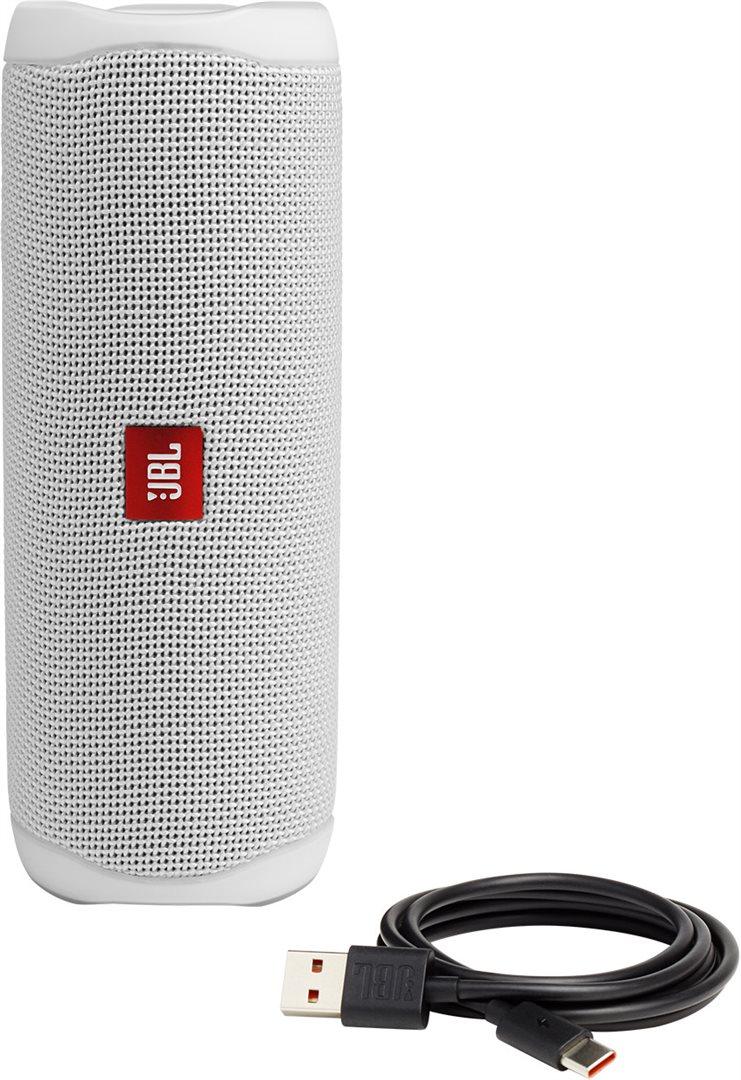 Bluetooth reproduktor JBL Flip 5 bílá