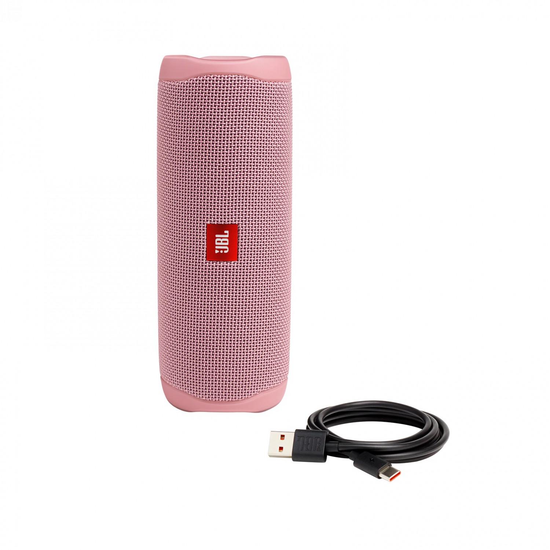 Bluetooth reproduktor JBL Flip 5 růžová