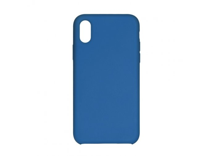 Silikonové pouzdro Swissten Liquid pro Samsung Galaxy A10, modrá