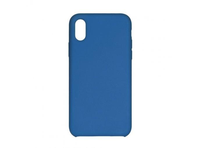 Silikonové pouzdro Swissten Liquid pro Apple iPhone 11 Pro, světle modrá