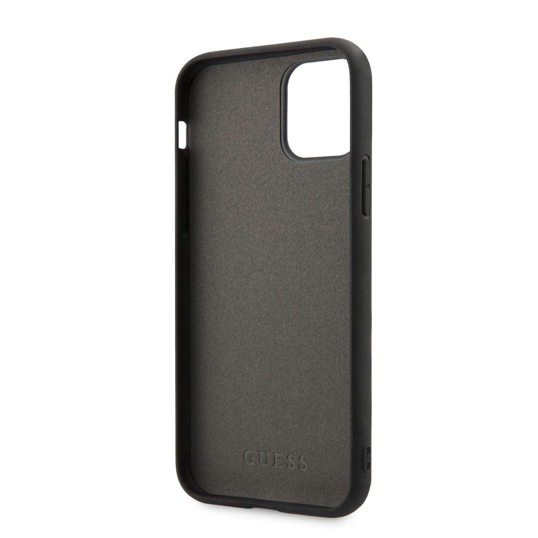 Guess Iridescent Zadní kryt GUHCN61BLD pro Apple iPhone 11 silver