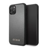 Guess Iridescent Zadní kryt GUHCN58IGLBK pro Apple iPhone 11 Pro black