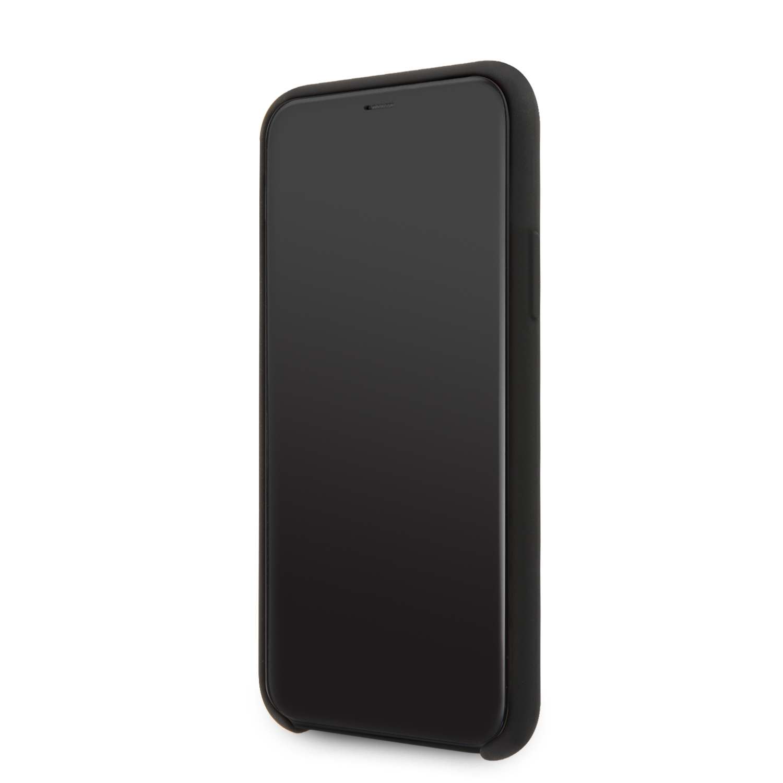 Guess 4G Silicone Tone Zadní kryt GUHCN58LS4GBK pro Apple iPhone 11 Pro black