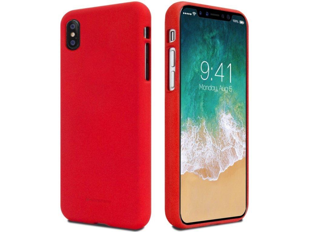 Pouzdro Mercury Soft Feeling pro Xiaomi Redmi Note 7, red