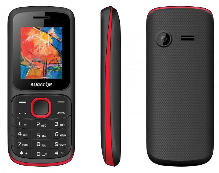 Aligator D210 černá / červená