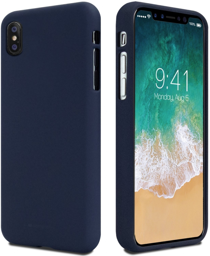 Pouzdro Mercury Soft Feeling pro Samsung Galaxy A10, midnight blue