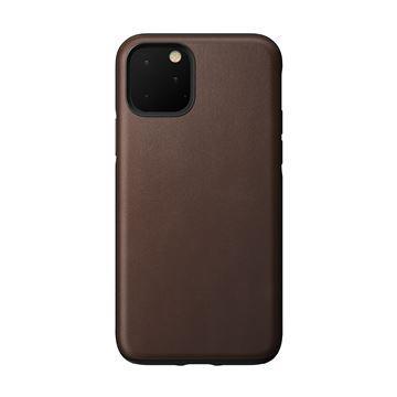 Ochranný kryt Nomad Rugged Leather case pro Apple iPhone 11 Pro Max, hnědá
