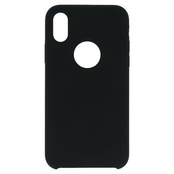 Silikonové pouzdro Swissten Liquid pro Apple iPhone Hole 11 Pro Max, černá