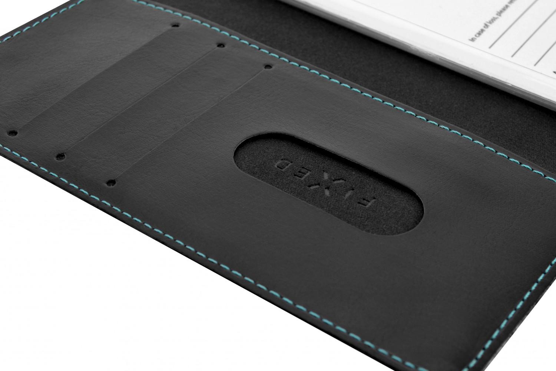 FIXED Opus flipové pouzdro pro Motorola One Macro, černé