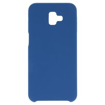 Silikonové pouzdro Swissten Liquid pro Samsung Galaxy J4 Plus, tmavě modrá