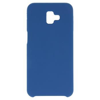 Silikonové pouzdro Swissten Liquid pro Apple iPhone XS Max, tmavě modrá