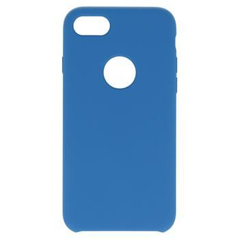 Silikonové pouzdro Swissten Liquid pro Apple iPhone Hole 7/8, světle modrá