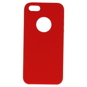 Silikonové pouzdro Swissten Liquid pro Apple iPhone Hole 7/8, červená
