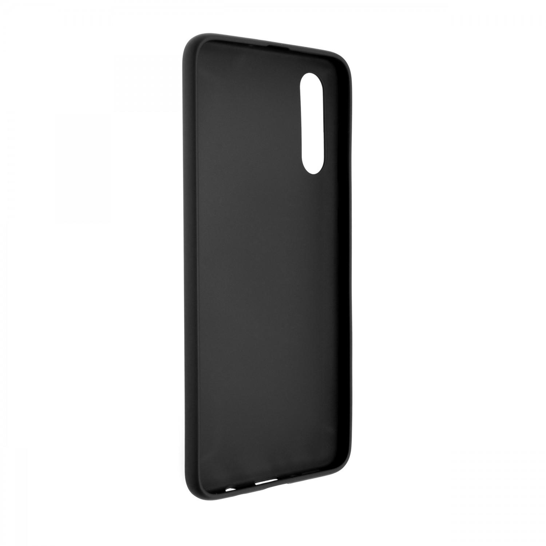 Zadní pogumovaný kryt FIXED Story pro Samsung Galaxy A70s, černý