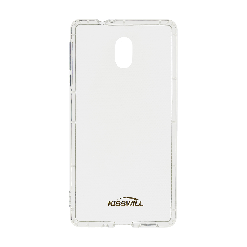 Silikonové pouzdro Kisswill pro Xiaomi Redmi Note 8T, transparentní