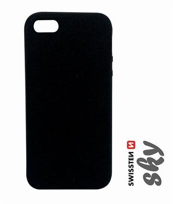 Pouzdro Swissten Sky pro Apple iPhone 5/5S/SE, černá