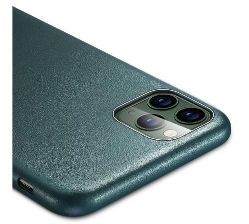 Ochranný kryt ESR Metro Leather pro Apple iPhone 11 Pro Max, zelená