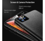Ochranný kryt ESR Metro Leather pro Apple iPhone 11 Pro, černá