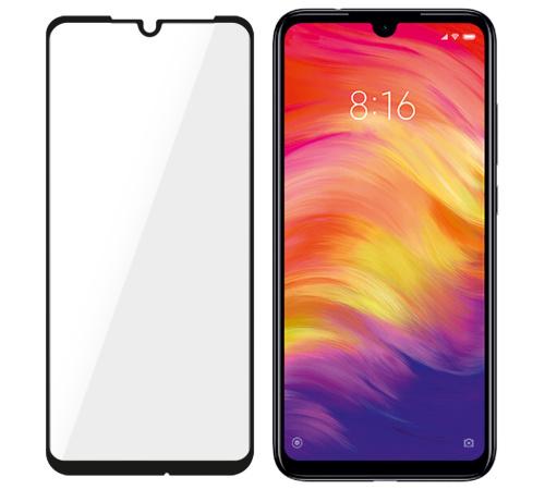 Tvrzené sklo 3mk FlexibleGlass Max pro Xiaomi Redmi Note 7, černá