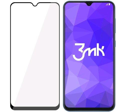 Tvrzené sklo 3mk FlexibleGlass Max pro Samsung Galaxy A50, černá