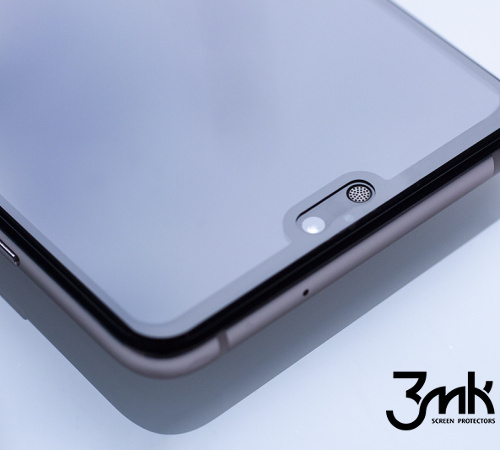 Tvrzené sklo 3mk FlexibleGlass Max pro Apple iPhone 6, 6s, černá
