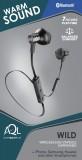 Bezdrátová In-Ear sluchátka Cellularline Wild, AQL® certifikace, černá