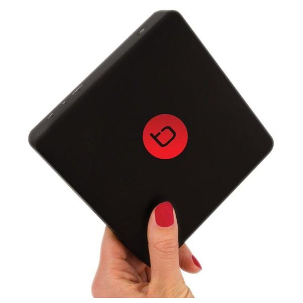 Multimediální centrum techBite Flix TV Box /4K /Wi-Fi /HDMI /LAN /Android TV 8.0 černá