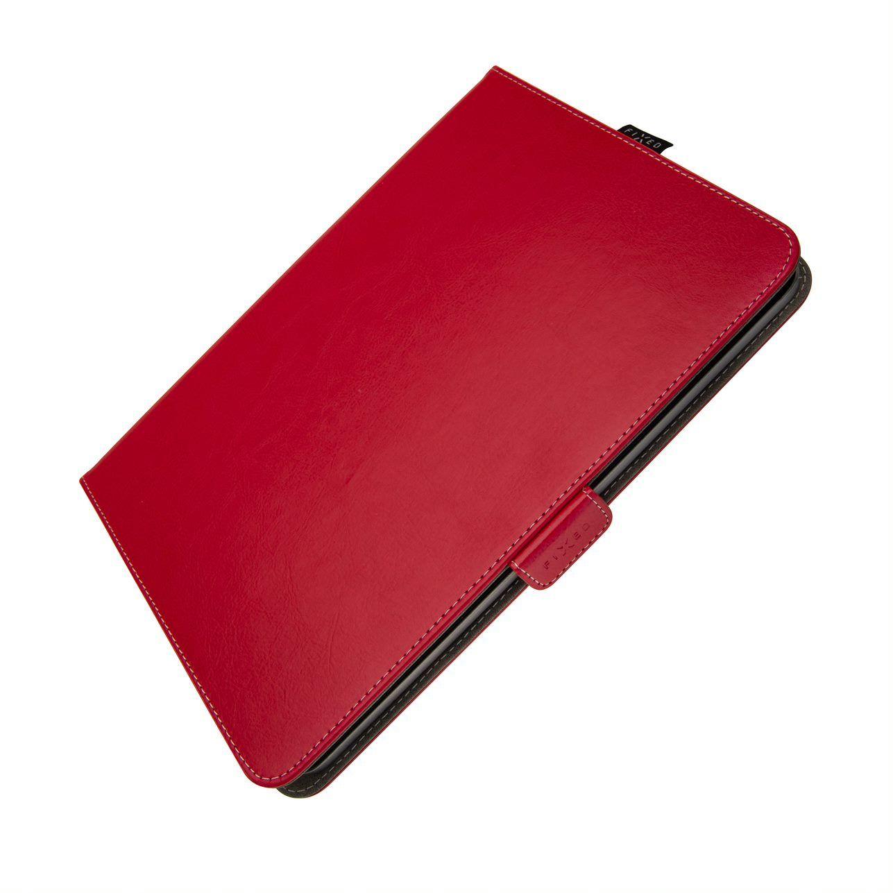 """FIXED Novel pouzdro pro 10.1"""" tablety se stojánkem a kapsou, červené"""