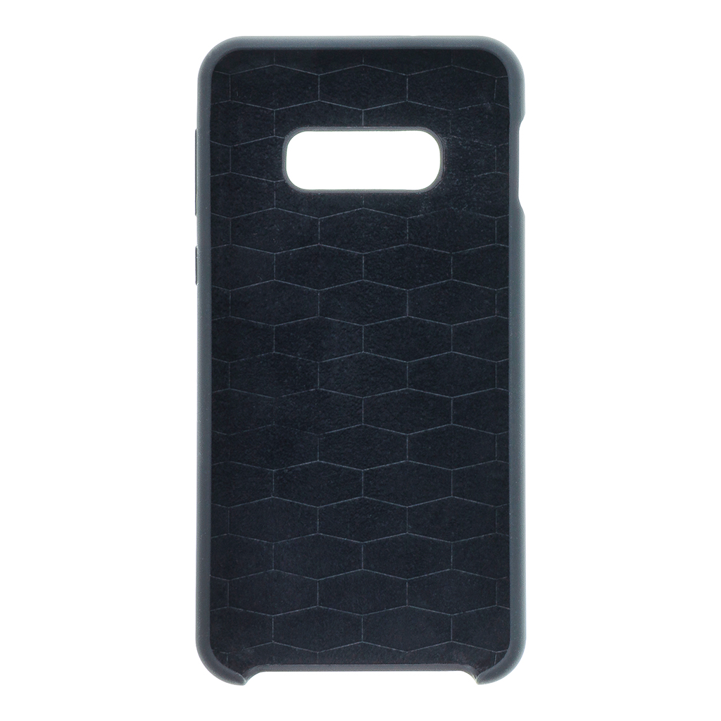 BMW Silikonový kryt BMHCS10LMSILBK pro Samsung Galaxy S10e black